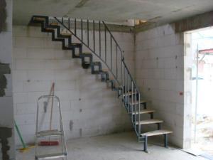 Eine richtige Treppe...