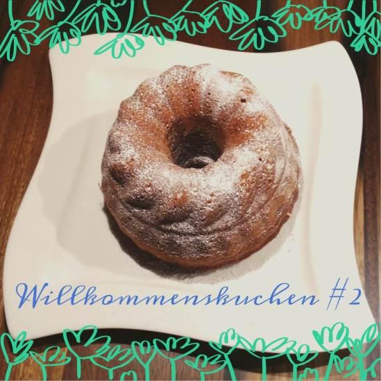 Willkommenskuchen #2 - Marmorkuchen